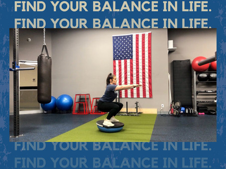 Find Your Balance In Life