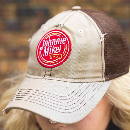 Vintage Johnnie Mikel Baseball Cap - Tan/Brown