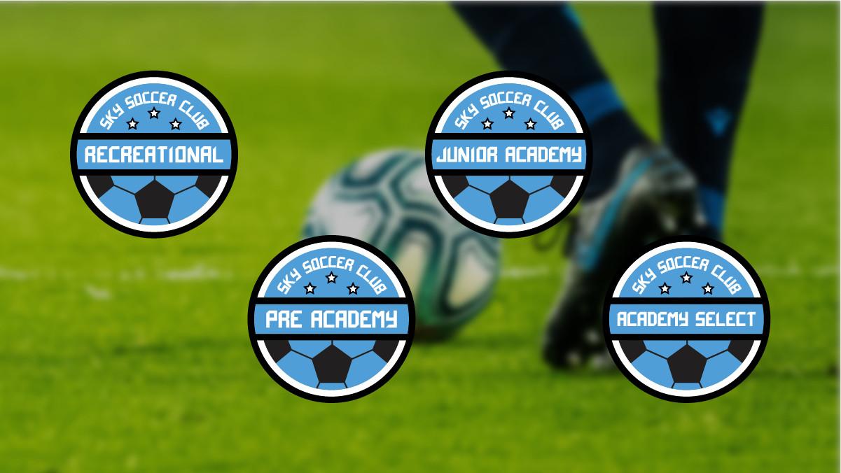 SKY Soccer Family Badges