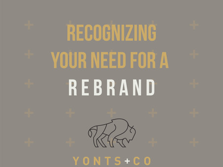 Recognizing Your Need for a Rebrand.