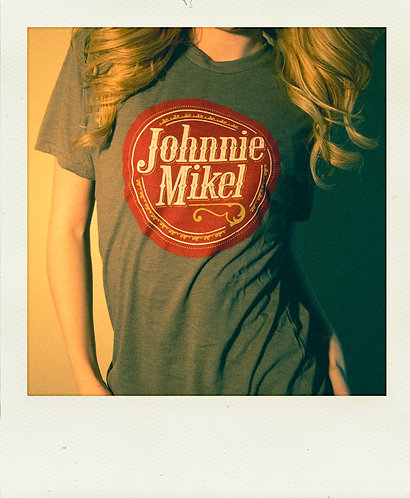 Vintage Johnnie Mikel T-Shirt - Gray
