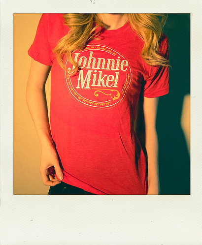 Vintage Johnnie Mikel T-Shirt - Red