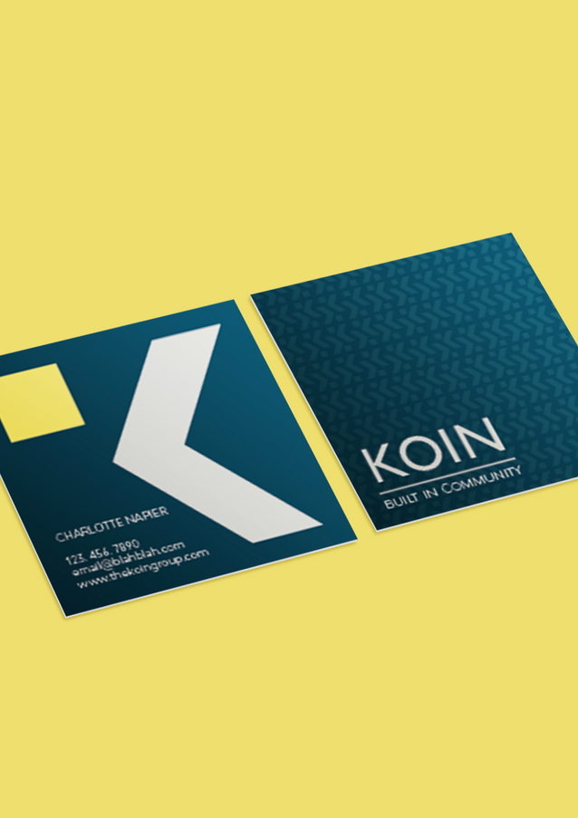 Koin Business Card