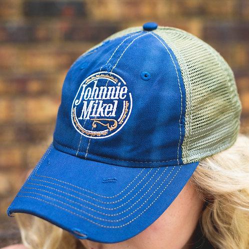 Vintage Johnnie Mikel Baseball Cap - Blue
