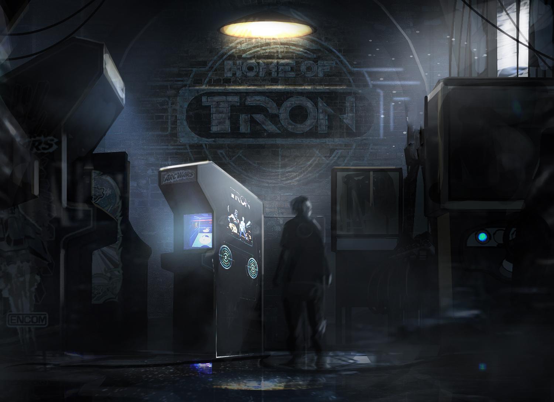 016_Set_IE_FlynnsArcade_Circuit breaker turns on all the arcade games_090303_SeanFindsTheDoor_LogoPa