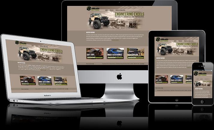 Onepager Website Beispiel