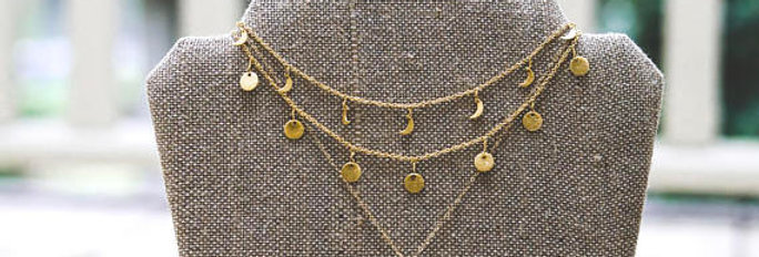 Dainty Gold Choker Set