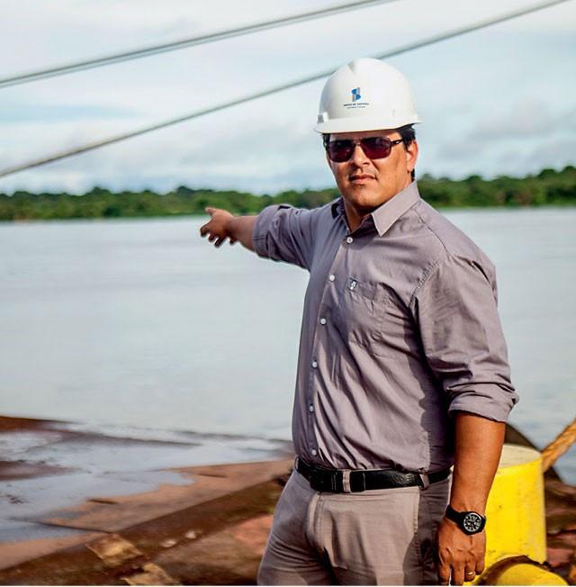 Gilberto Coelho, gerente da Cianport no Amapá