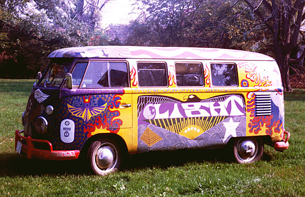 Woodstock Bus, Light, in 1968