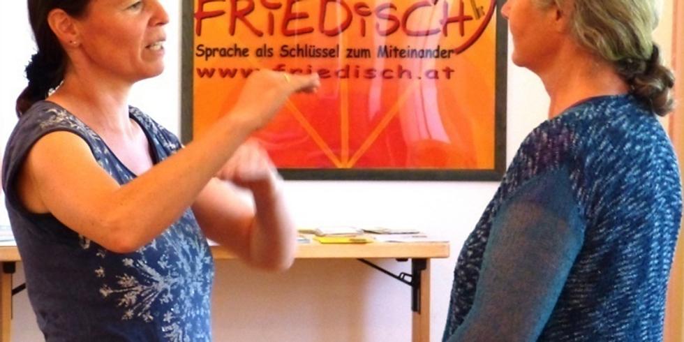 Basistraining Gewaltfreie Kommunikation an 13 Abenden