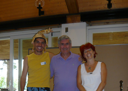 Marshall mit Nicola & Thomas
