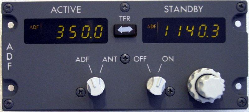 B737 ADF Panel