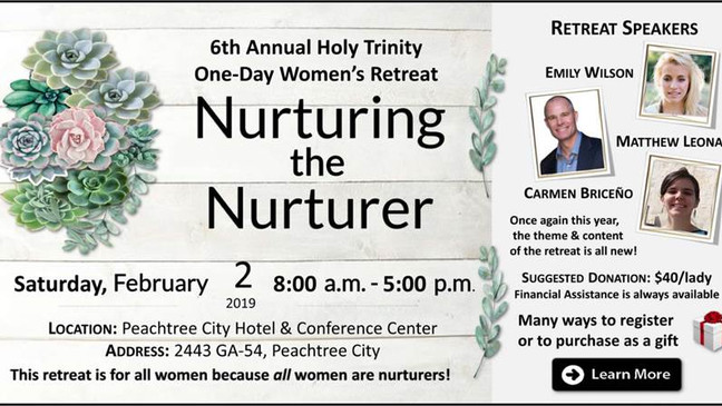 Nurturing the Nurturer at Holy Trinity