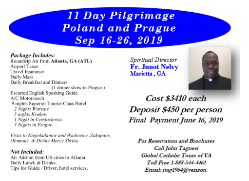 Pilgrimage with Father Junot