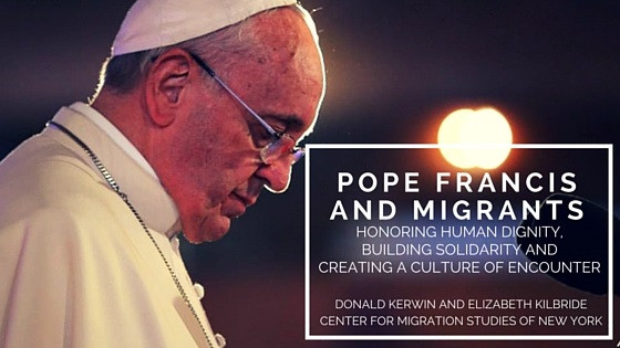 Pope: Migrants must be protected especially women and children.