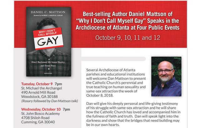 """Why I don't call myself Gay""- Daniel Mattson"