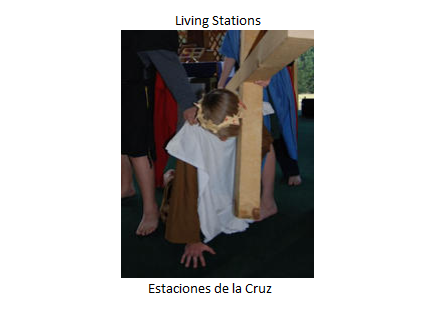 Middle School Living Stations of the Cross Friday, March 16th 7:30pm in the Church! Come see it!