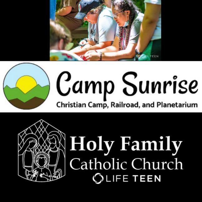 Camp Sunrise August 7 retreat High School 2021
