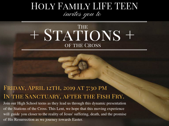 Stations of the Cross by Life-Teen