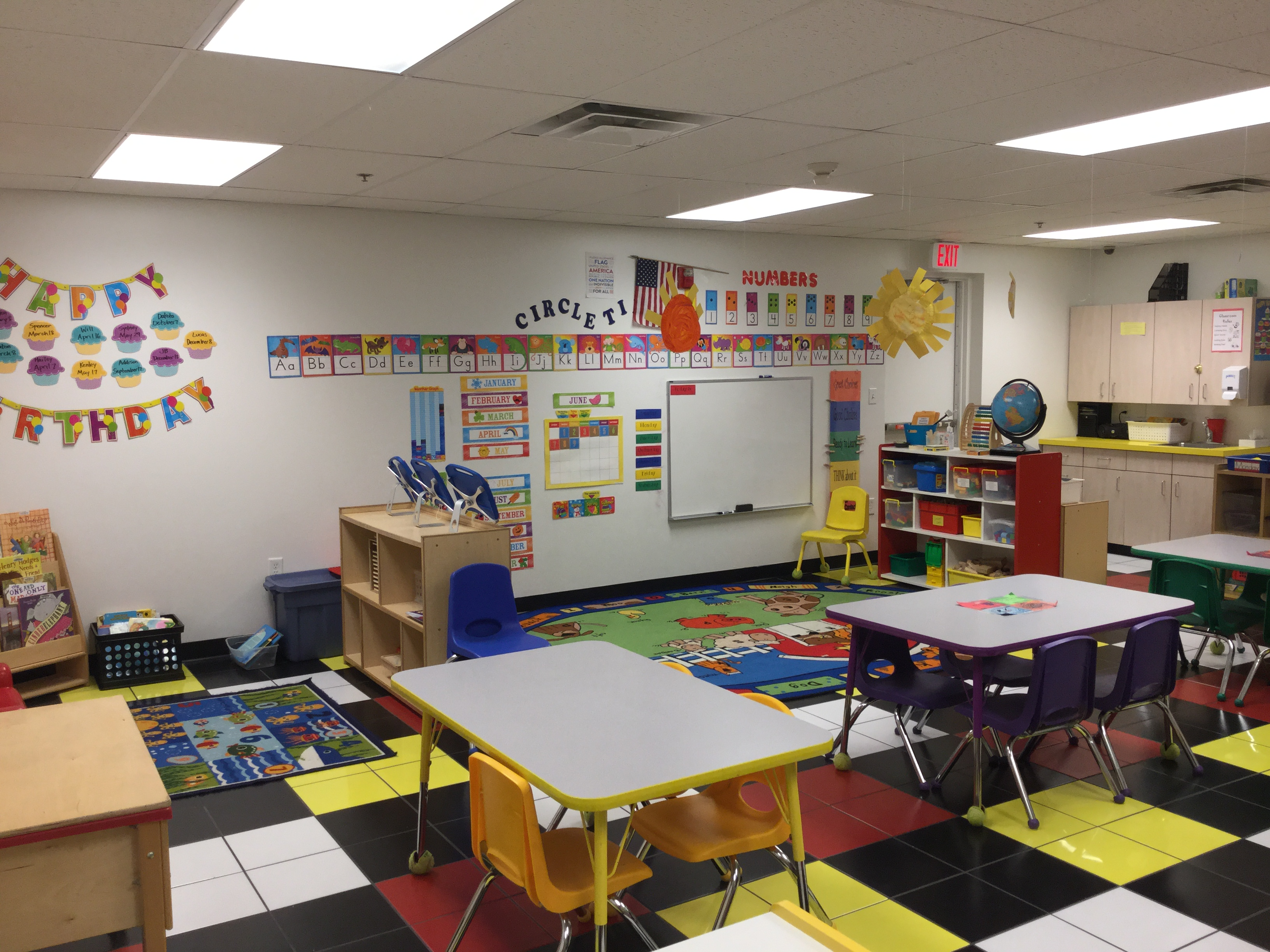 Pre-K II Classroom