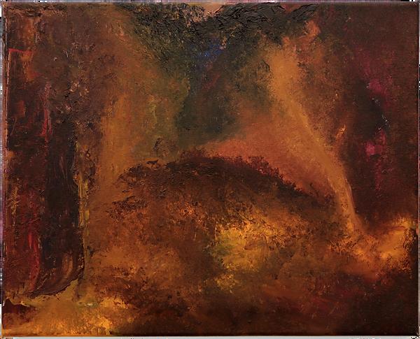 5_landscape 1, oil color on linen (40 x 50 cm) 2019