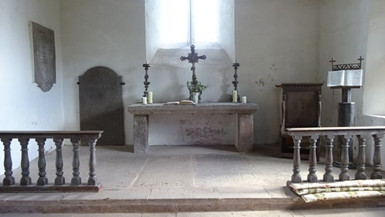 Llanrothal, altar (2)