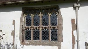 Llanrothal, Tudor window, exterior