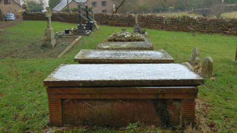 Welsh Newton, view of graveyard.PNG