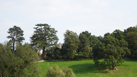 Goodrich, view from churchyard.PNG