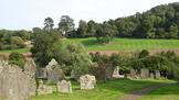 Goodrich, view across graveyard.PNG