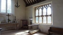 Llanrothal, Tudor window, interior
