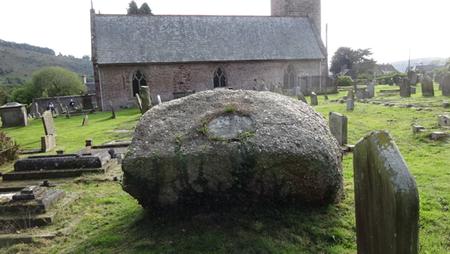 Goodrich, boulder memorial.PNG