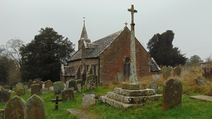 Welsh Newton, memorial cross.PNG