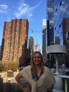 Here's me on top of Yotel in Midtown Manhattan!