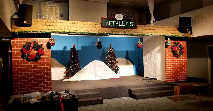 Night at Bethley's Department Store
