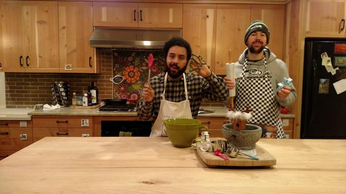David and Leo Baking Hoilday Cookies.jpg