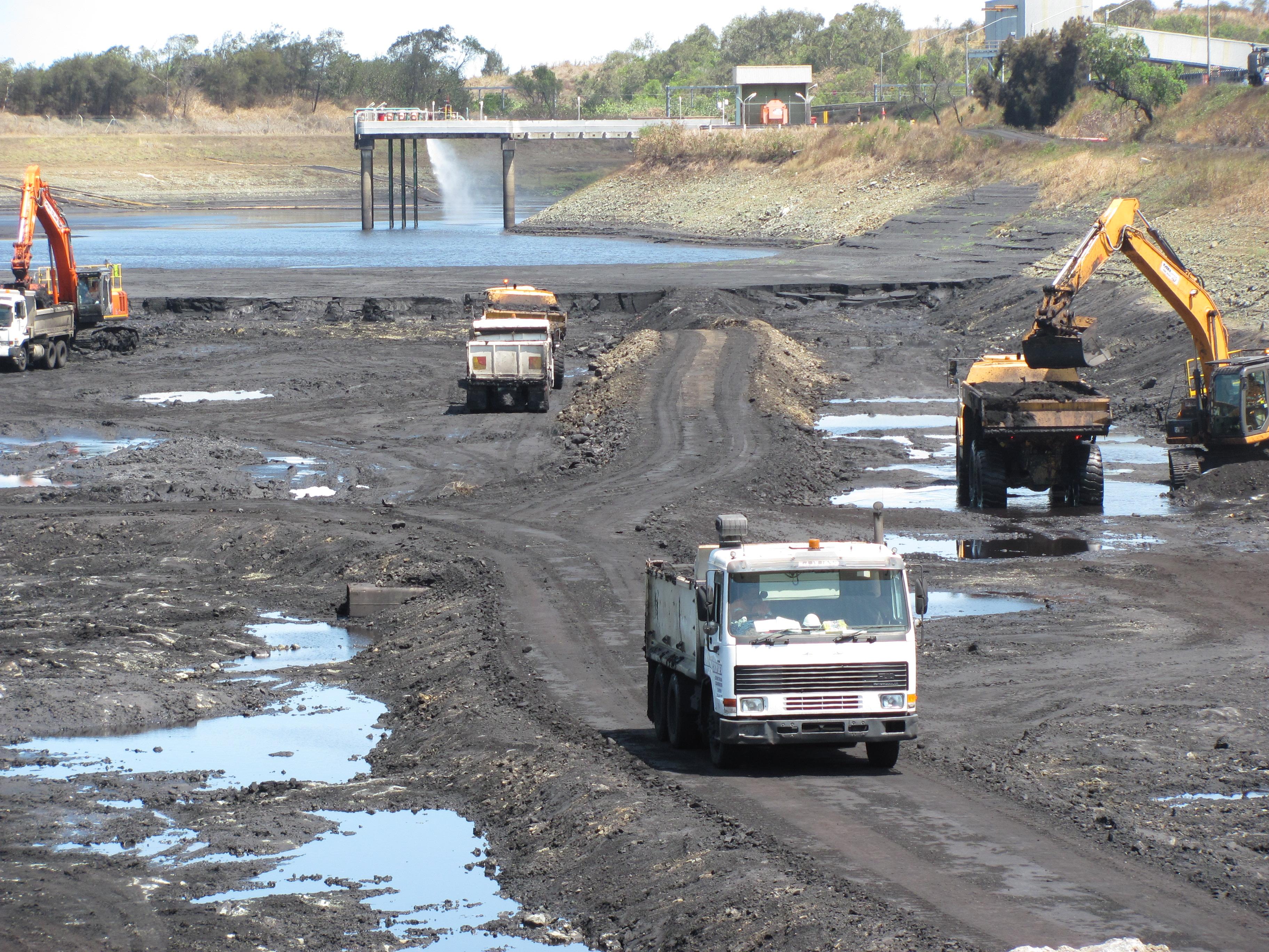 DBCT Dam Project
