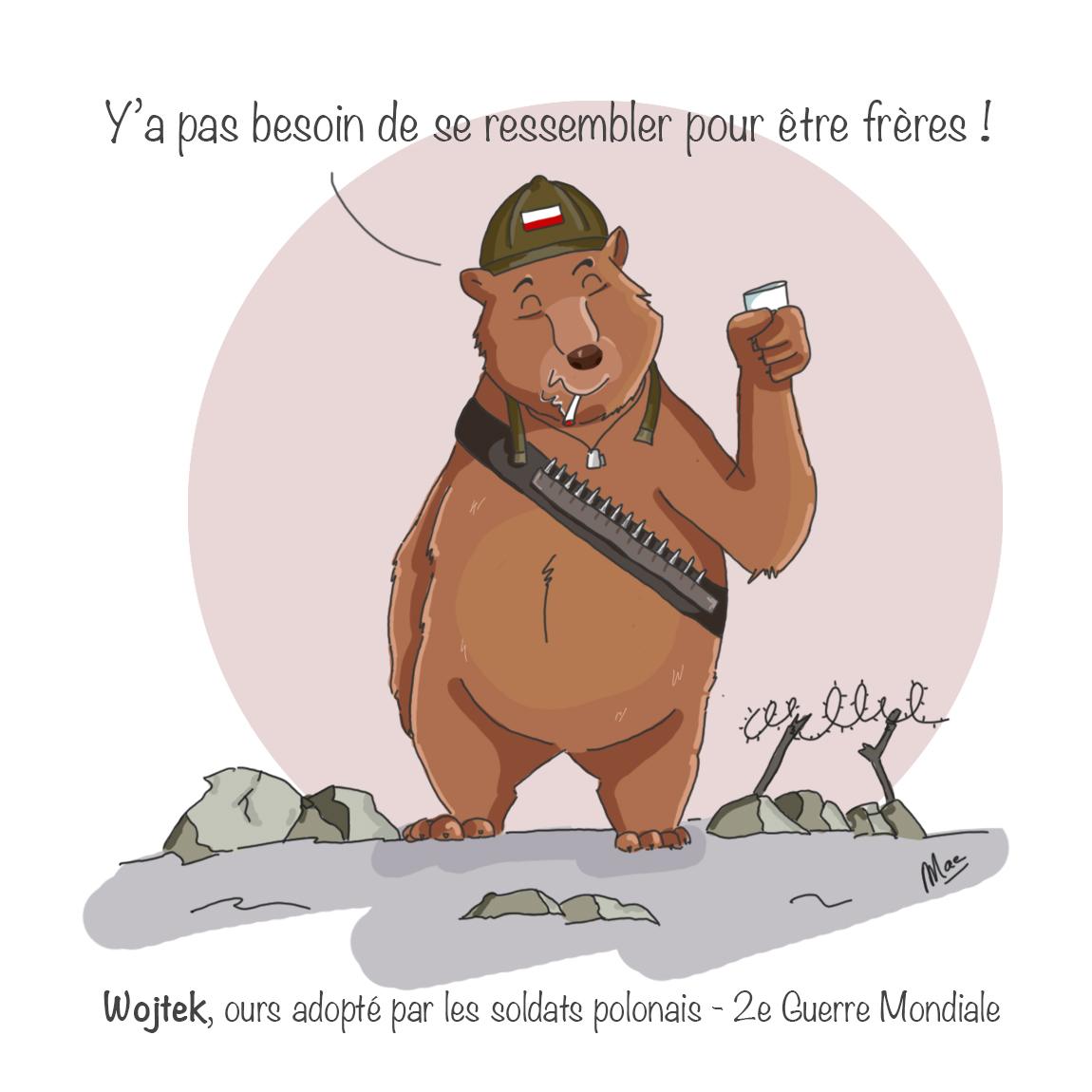 Wojtek, l'ours polonais