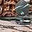 Thumbnail: SEVERI - 6 sottobicchieri tondi in Nero Marquinia