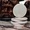 Thumbnail: SEVERI - 6 sottobicchieri tondi in Botticino Classico