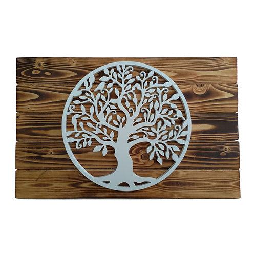 WILD - Albero della vita in gres su legno