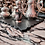 Thumbnail: VITELLIO - Base rettangolare ondulata in Ardesia Ligure