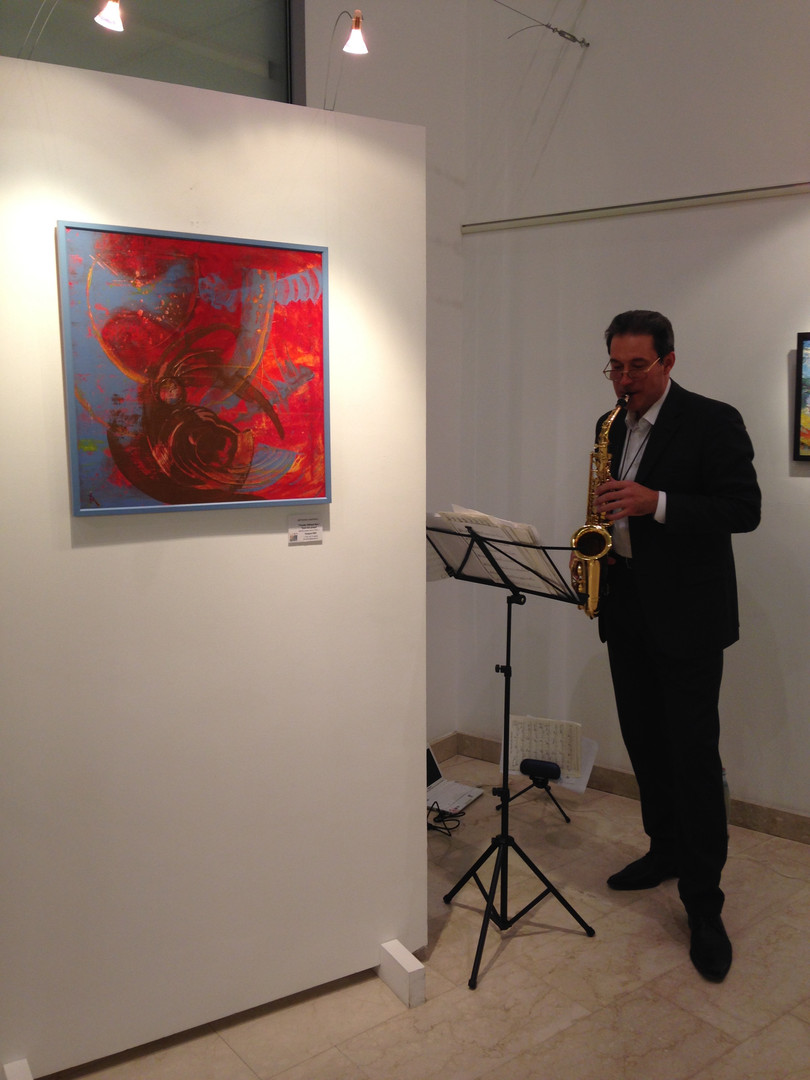 Art Gallery show in Moscow