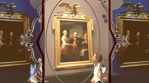 Assessing Old Master artwork condition.