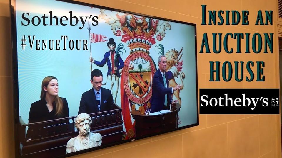 Inside an Auction House: venue tour #2.