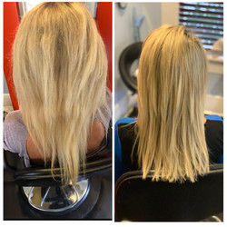 Hair Growth AFTER extension removal
