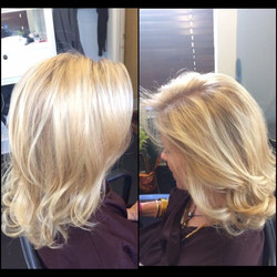 Another successful blonde bombshell!!! Heavy foils and a base pop..