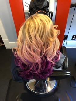 Peak-a-boo Purple