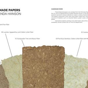 Papermaking Fiber Sheets
