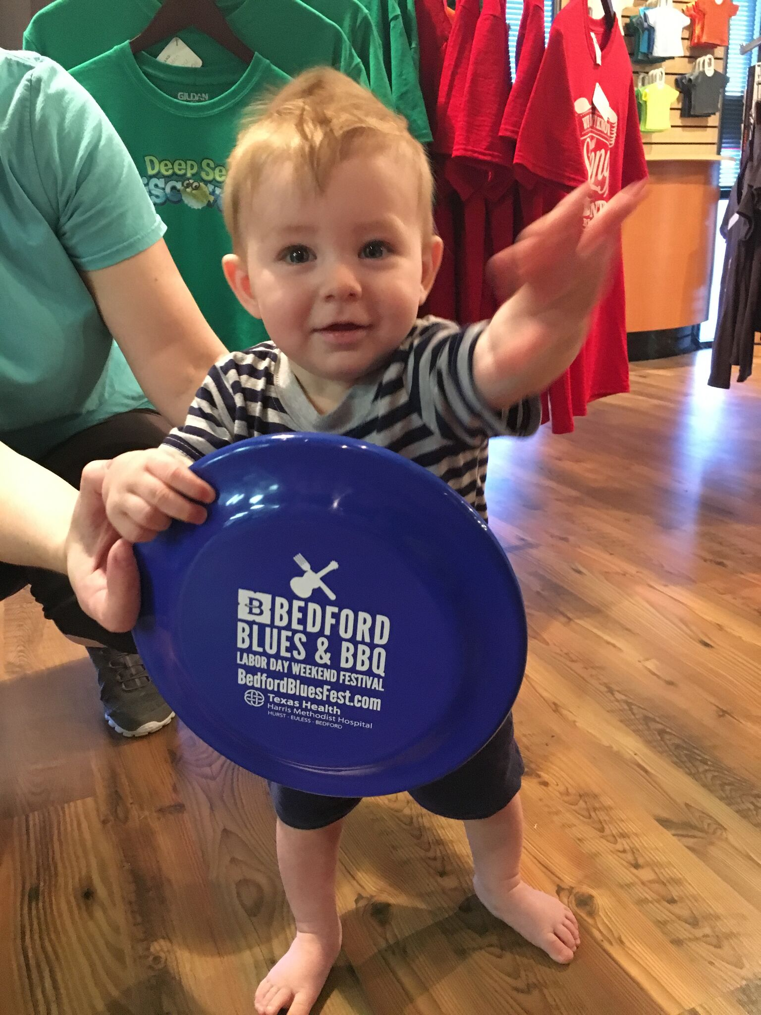 Bedford Blues And BBQ Frisbees